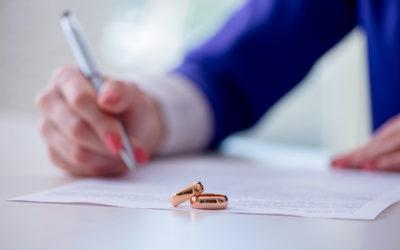 Pour les divorces contentieux